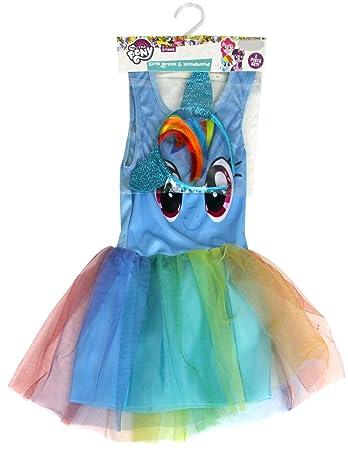 My Little Pony Rainbow Dash Girls Blue TuTu Party Dress Costume ...