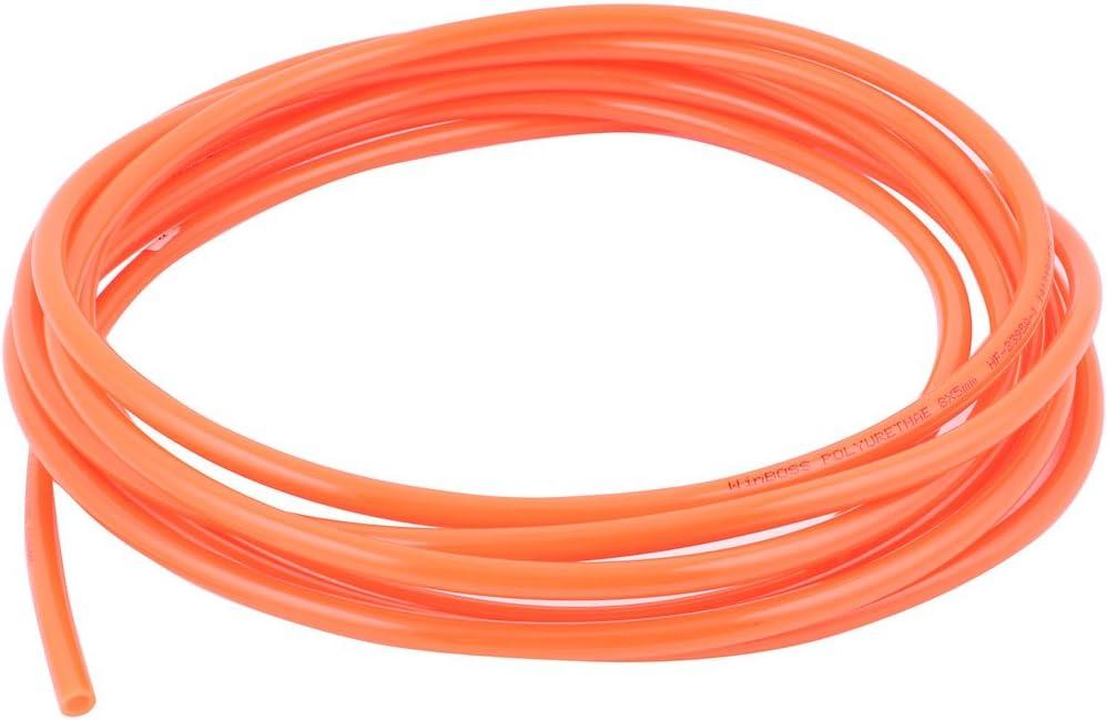 5 x 8mm Fuel Gas Air flex Polyurethane PU Pneumatic Tube Hose Pipe-Clear 5mm id