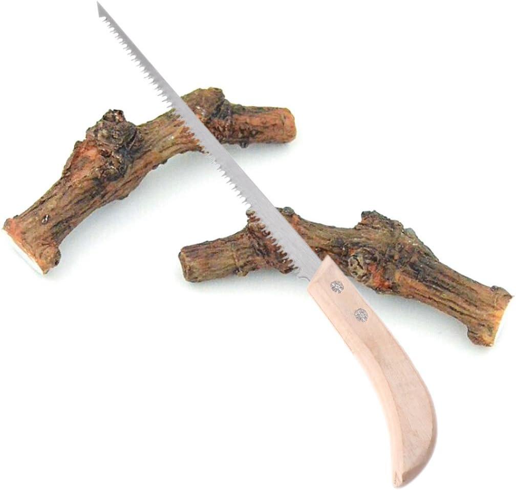 siwetg Manganese Alloy Hand Saws 220 mm Small Garden Hand Saws for Garden Carpentry