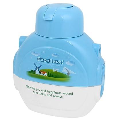 Nube del molino de viento Impreso Azul Agua plástica de la bebida de la botella 570ml