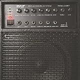 Pyle PWMA230BT - Bluetooth Wireless & Portable PA Karaoke Speaker System, Built-in Rechargeable Battery, Wireless Microphone