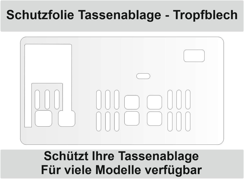25.120 Schutzfolie für Tropfblech Ablage  DeLonghi ECAM 23.120 23.123 25.128