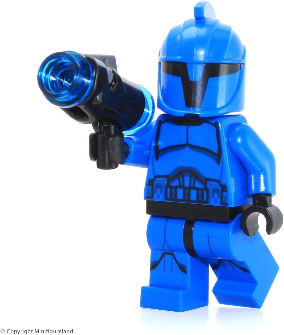 Genuine Lego Star Wars Clone Trooper Special Forces Commander Mini Figure