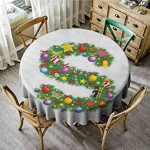Rank-T Home Decor Round Tablecloth 47