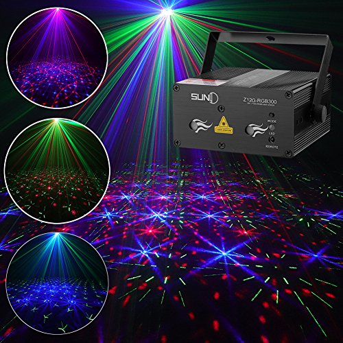 Glorious Projector Christmas Light Dj Disco Ball Lumiere Sound Activated Laser Effect Party Music Lamp Led Stage Light Disco Lights Quality And Quantity Assured Commercial Lighting Lights & Lighting