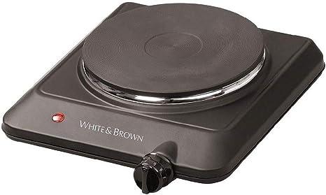 Taurus White & Brown-Hornillo eléctrico PC431, 1 placa, 1500 ...