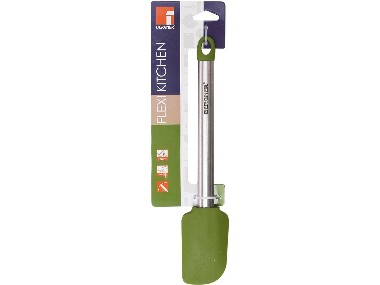 Set de utensilios de cocina: juego de sartenes en aluminio prensado 16 / 20 y 24 cm. y espatula en silicona.: Amazon.es: Hogar