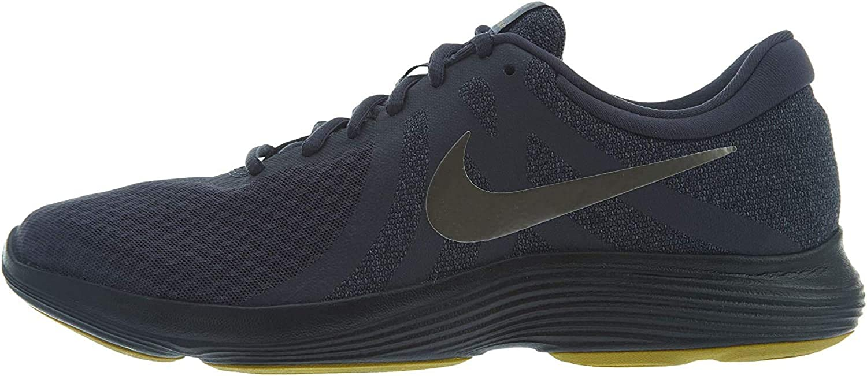 Nike Revolution 4, Scarpe Running Uomo Multicolore Gridiron Mtlc Pewter Light Carbon Black 015