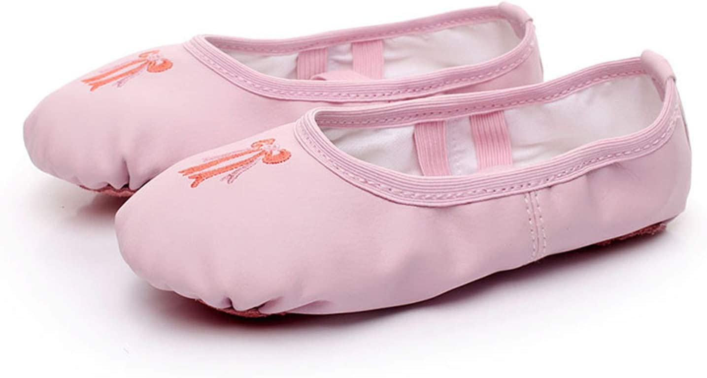 Ruanyi Dance Shoes PU Leather Shoes Cat Claw Shoes Dance Shoes Yoga Ballet Shoes for Girls Women