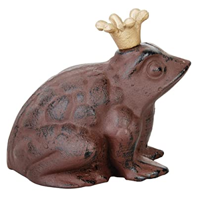 Esschert Design Frog Prince statue - small (TT10) : Outdoor Statues : Garden & Outdoor