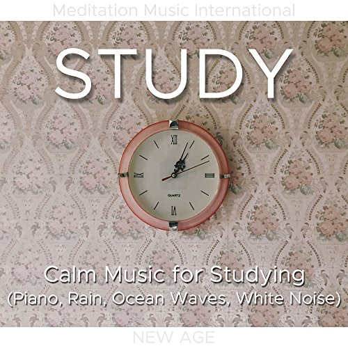 Electronic Spa - Study - Calm Music for Studying (Piano, Rain, Ocean Waves, White Noise)