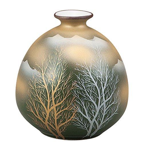 KUTANI YAKI(ware) Vase Gold -