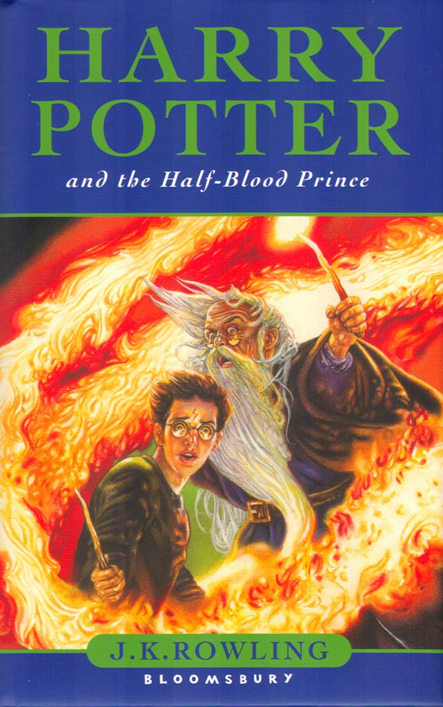 Harry Potter And The Half Blood Prince J K Rowling Jason Cockcroft 9780747581086 Amazon Com Books