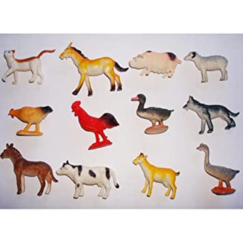 Toymytoy Plástico Animal Animales Figuras Modelo Juguete De Pw8nk0O