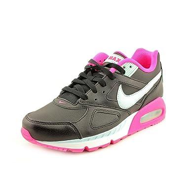 0a0b194a0fa6 NIKE Air Max IVO LTR Women Sneakers Black Pink Foil Summit White Teal