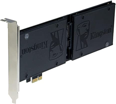 Sedna PCI Express (PCIe) Dual 2.5 Inch SATA III (6G) SSD Adapter ...