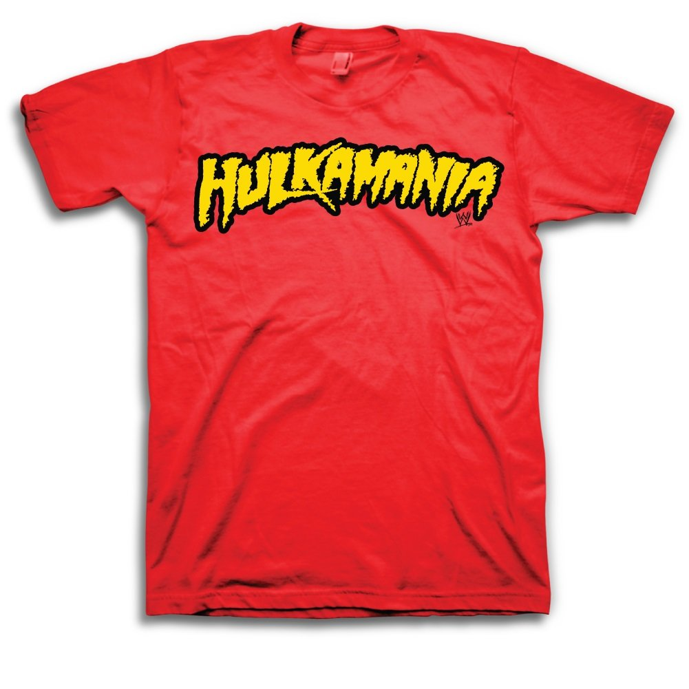 WWE Hulk Hogan Hulkamania Mens Red T-shirt