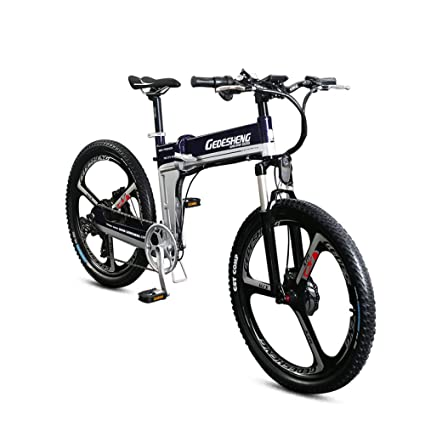 "GTYW Bicicleta eléctrica plegable de montaña para adulto de 26""-90 km de vida"