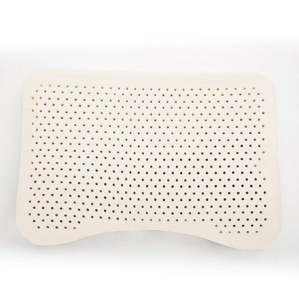 DM-Barbecue Latex Pillow - Natural Latex Pillow Thailand Royal Imported Adult Rubber Pillow Crescent Pillow qwq by DM (Image #4)