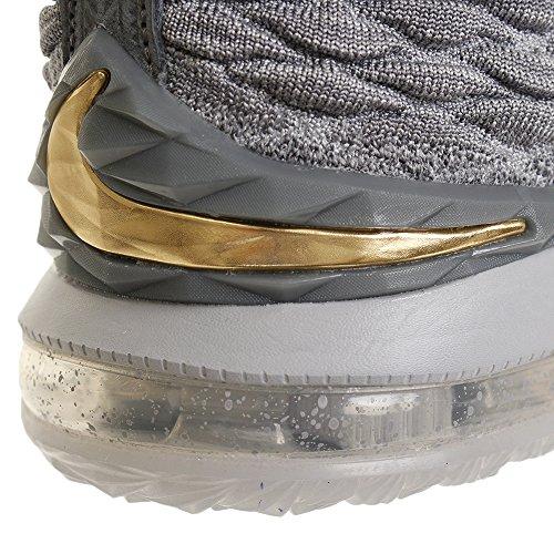 Nike Mens Lebron Xv Ep, Lupo Grigio / Oro Metallizzato, 9 M Us
