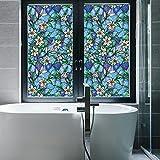 Coavas Privacy Window Film Stained Glass Window