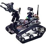 Amazon Com Wifi Robot Car Kit Unihobby Hb3000 Robotic Tank Car Kit