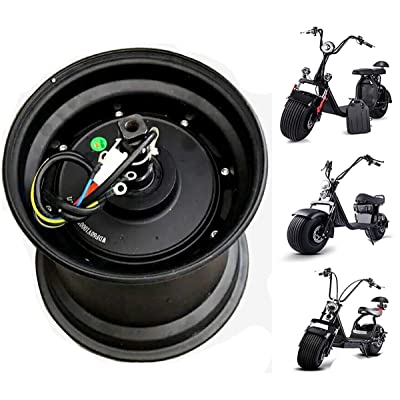 JJ Boom Harley Scooter car Drive Motor Wheel 60V 72V hub Motor Electric Motorcycle Citycoco Scooter Electric Bicycle Motor Wheel : Sports & Outdoors