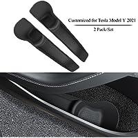 topfit Tesla Model Y Autodeur Side Opbergdoos Voor Rij Deur Handvat Insert Opslag Pocket Organizer Siliconen Interieur…
