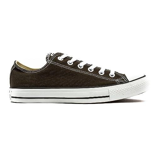 Converse Chuck Taylor All Star Ox, Zapatillas de Tela Unisex Adulto, Marrón (Collard), 35 EU: Amazon.es: Zapatos y complementos
