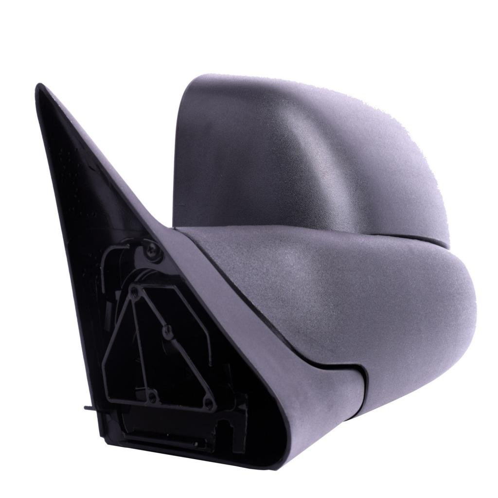 DEDC Dodge Tow Mirrors Dodge Ram 1500 2500 3500 Towing Mirrors Left Drivers Side Manual Folding With Support Brackets For 1994-2002 Dodge Ram 1500 2500 3500 CTPKMRDR2001-LH