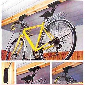 Amazon Com Bike Lift Ceiling Mounts Bicycle Garage Hoist