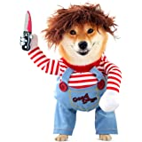 Dog Halloween Costumes, Dog Doll Play Cosplay, Novelty Dog Clothes, Dog Costume for Halloween Dress-up Party, for Puppy Mediu