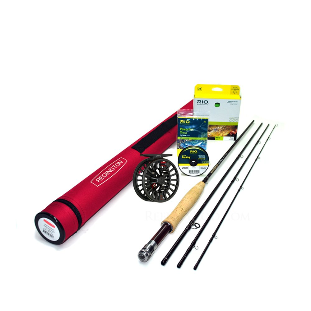 Redington Classic Trout 276-4 Fly Rod Outfit (7'6'', 2wt, 4pc)