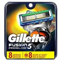 Hojas de afeitar para hombre Gillette Fusion5 ProGlide, 8 repuestos de hoja (el empaque puede variar)
