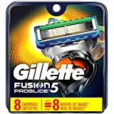 Gillette Fusion5 ProGlide Men's Razor Blades, 8 Blade Refills (Packaging May Vary)