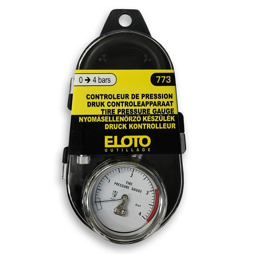Eloto R/éf 773 Contr/ôleur de Pression Professionnel 0 /à 4 Bars