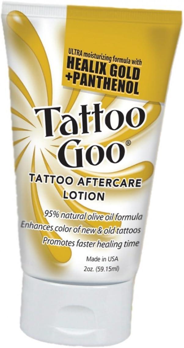 Tattoo Goo Original - Loción cuidados después - 60Ml: Amazon.es ...