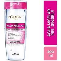 Agua Micelar piel sensible L'Oréal Paris, 400 ml