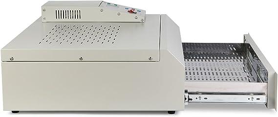 T962C Moracle 400x600mm M/áquina de Soldadura de Horno de Reflujo Infrarrojo IC Calentador SMD BGA T962C Horno de Reflujo Autom/ático