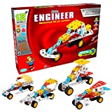 SARTHAM, Little Engineer, Mechanical Kit for Juniors - Racer, Age 6+
