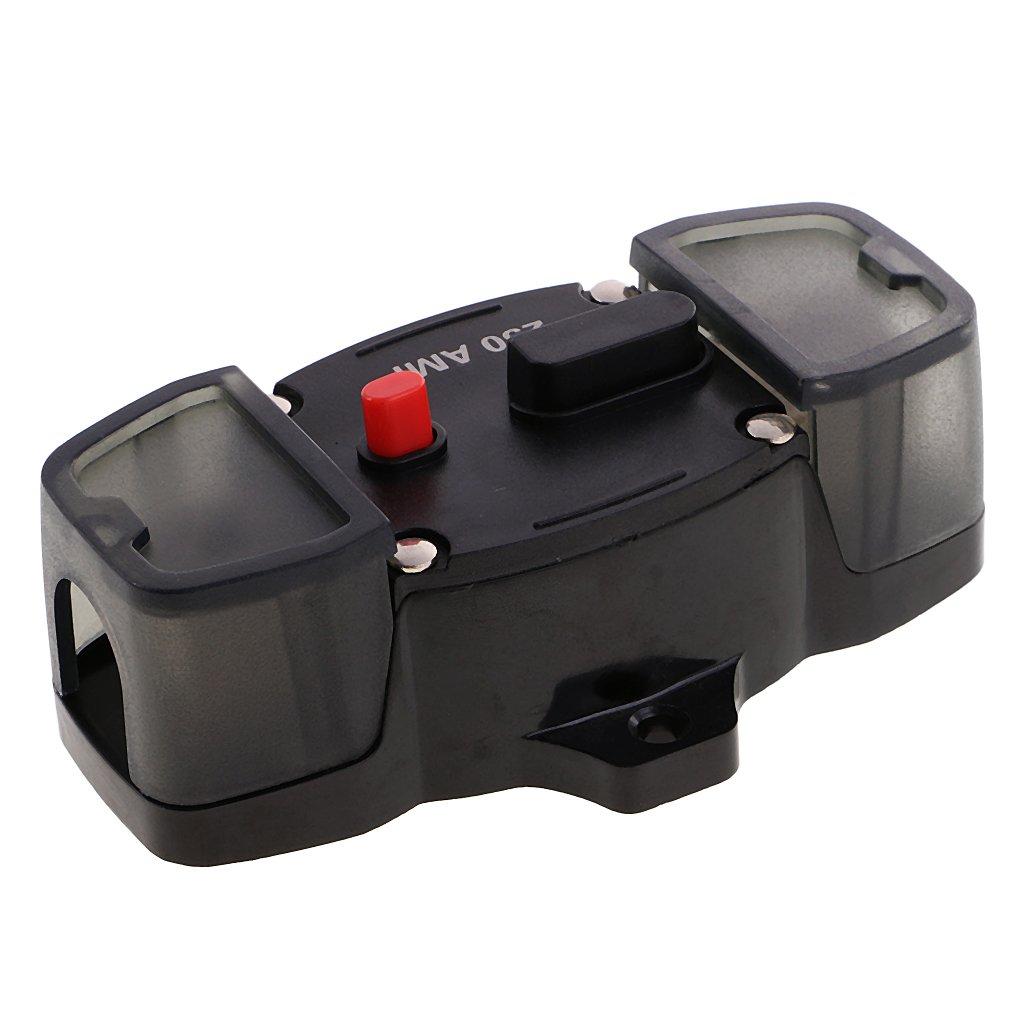50A perfk Automatiksicherung 50A-300A Sicherungshalter 12V 24V PKW Auto KFZ