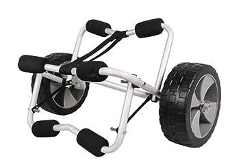 CRAVOG - Jon barco canoa Kayak surf carrito de Dolly carrito para remolque (ruedas: Amazon.es: Deportes y aire libre