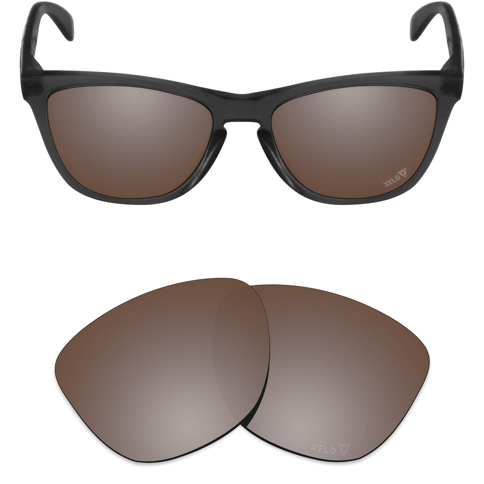 Mryok XELD Replacement Lenses for Oakley Frogskins - Vivid Bronze by Mryok
