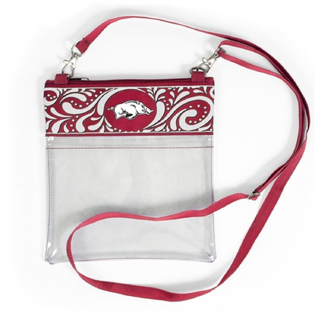 Desden Arkansas Razorbacks Clear Gameday Crossbody Bag