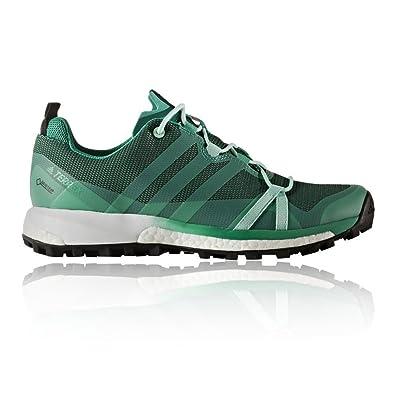 adidas Terrex Agravic de GTX W, Chaussures de Agravic Randonnée Femme, Vert 61a611