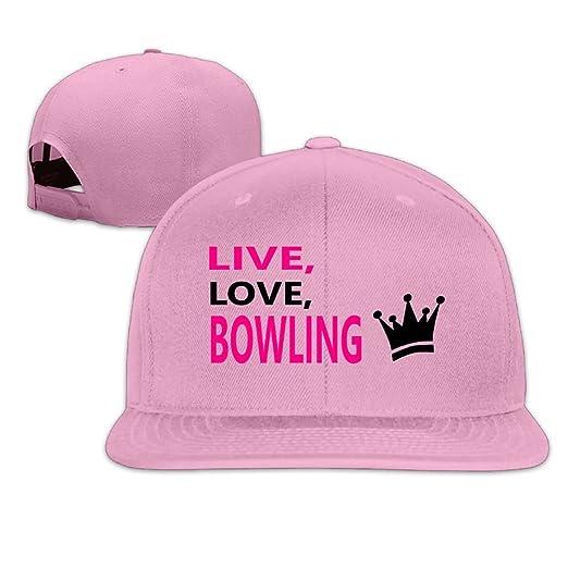 56e7df3c VKLFN Personalised Unisex Snapback Adjustable Truck Cap Sports Travel Hat  Natural, Bowling Baseball Flat Hat at Amazon Men's Clothing store: