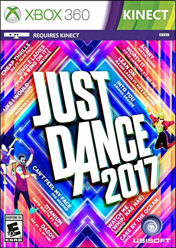 Just Dance 2017 - Xbox 360 (Best Xbox 360 Workout Games)