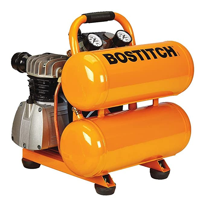 Amazon.com: BOSTITCH CAP2041ST-OL 4 gallon 135 PSI Oil-Lubricated Stack Tank Compressor: Home Improvement