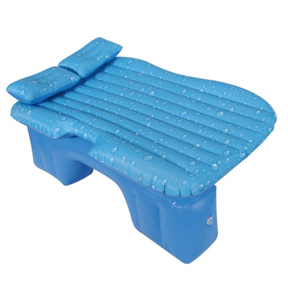 MJW Oxford Split Car Bett Auto Aufblasbares Bett Auto Matratze PVC Beflockung Auto Aufblasbares Bett (Sieben Farben),G