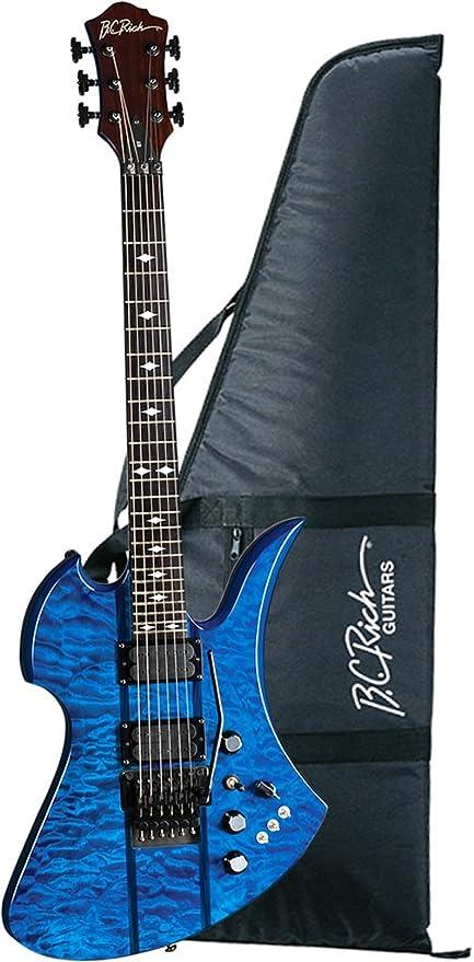 B.C. ricos mgsttbl, guitarra eléctrica, color azul: Amazon.es ...